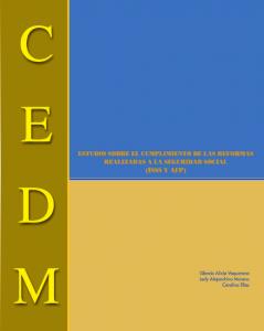 Estudio del cumplimiento de las reformas realizadas a la seguridad social
