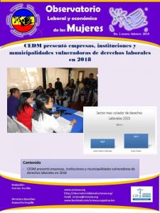 Boletina Enero – Febrero 2019