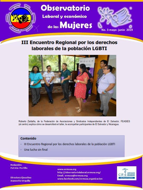 Lee más sobre el artículo Boletina Mayo – Junio 2019