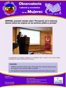 Boletina Julio – Agosto 2019