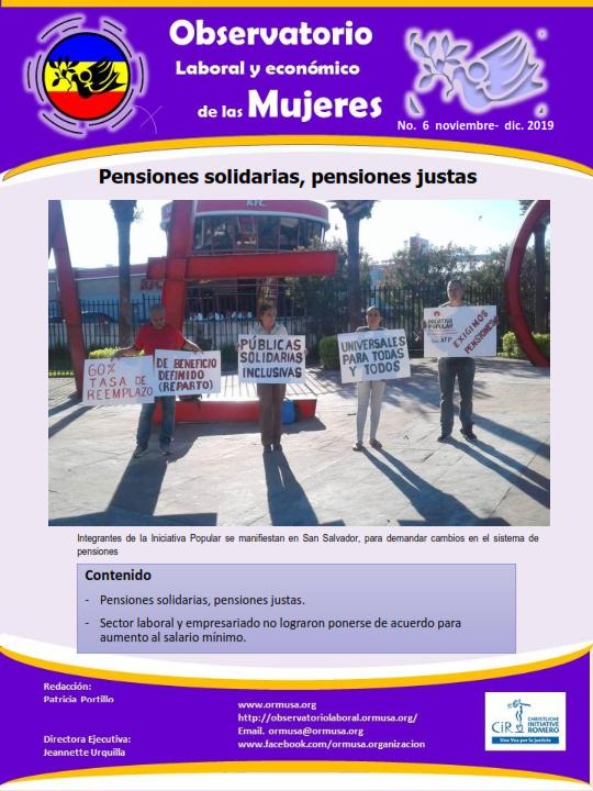 Boletina Noviembre – Diciembre 2019
