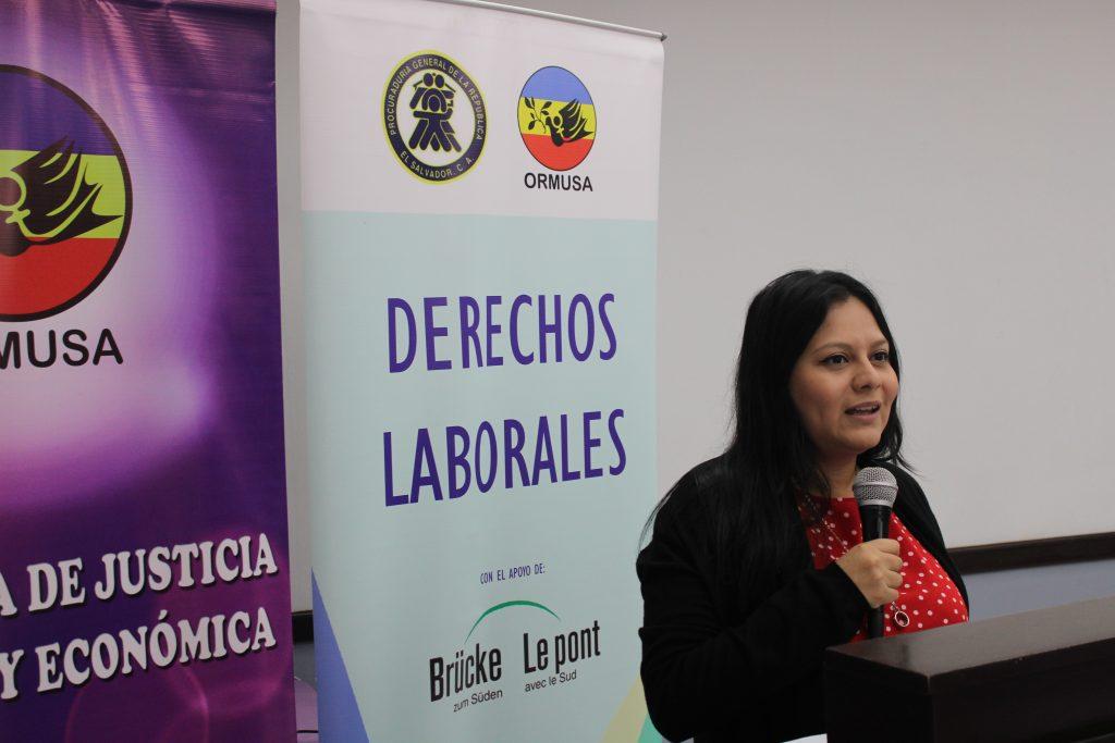 ORMUSA realizó conversatorio sobre riesgos psicosociales y violencia laboral dirigido a personal de la PGR