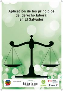 Lee más sobre el artículo Aplicación de los principios del Derecho Laboral en El Salvador