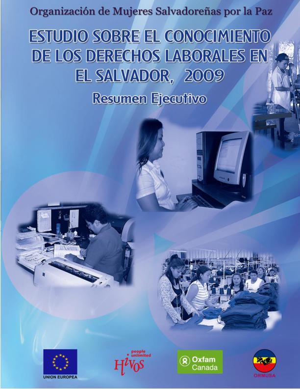 Lee más sobre el artículo Estudio sobre conocimiento de derechos laborales en el salvador