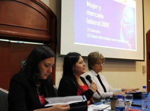 Mujer y mercado laboral 2019 – El Salvador. El futuro del trabajo con la industria 4.0