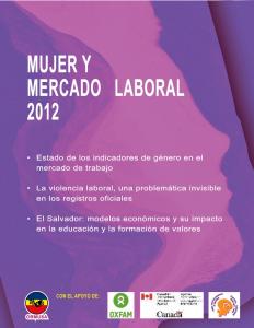 Mujer y mercado laboral 2012