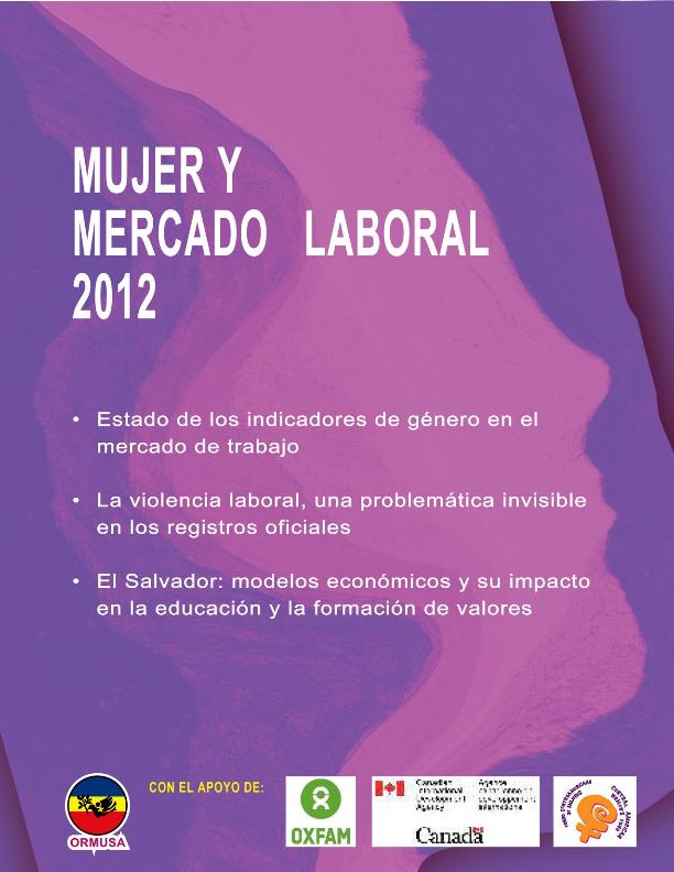 Lee más sobre el artículo Mujer y mercado laboral 2012