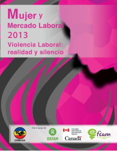 Mujer y Mercado Laboral 2013 – Violencia laboral: realidad y silencio