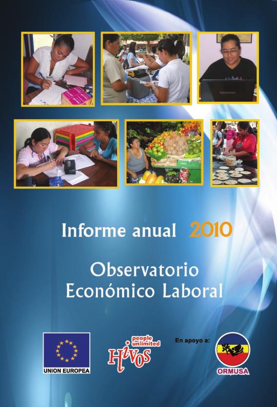 Informe del observatorio económico laboral 2010