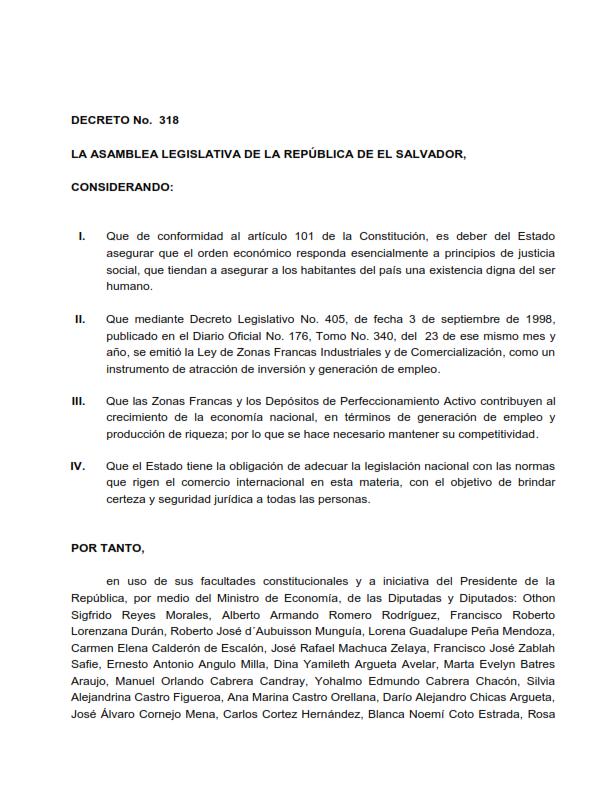 Lee más sobre el artículo Reformas ley de zonas francas