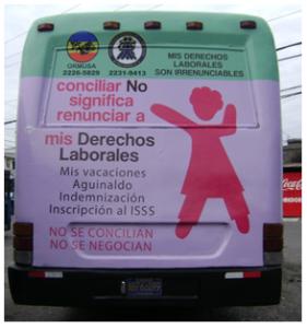 """""""Mis derechos laborales son irrenunciables, campaña por la defensa de los derechos laborales"""""""