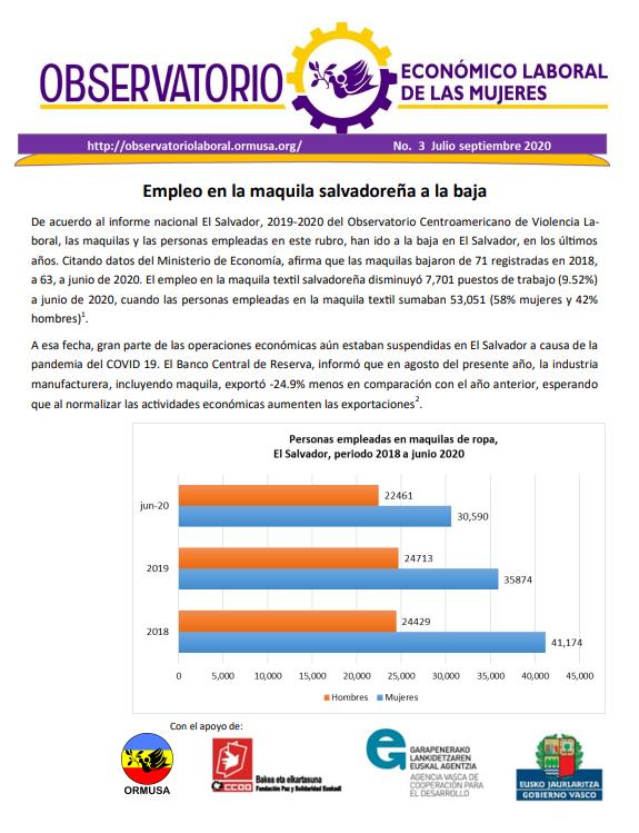 Boletina Julio – Septiembre 2020