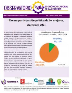 Lee más sobre el artículo Boletín enero – marzo 2021